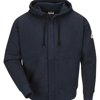 Zip-Front Hooded Sweatshirt Thumbnail