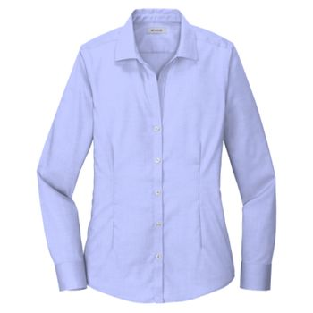Ladies Pinpoint Oxford Non Iron Shirt Thumbnail