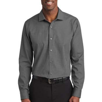 ® Slim Fit Nailhead Non Iron Shirt Thumbnail