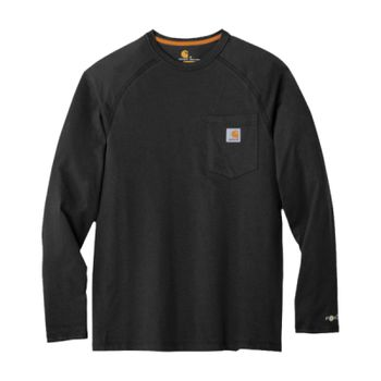Force ® Cotton Delmont Long Sleeve T Shirt Thumbnail