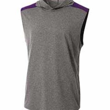 Men's Tourney-Layering Sleeveless Hoodie Thumbnail