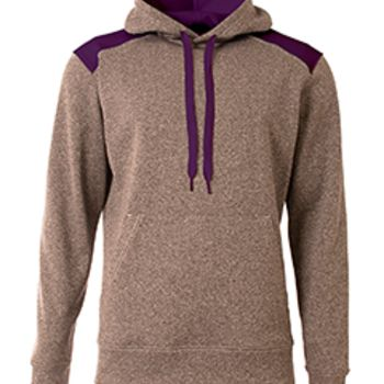 Men's Tourney Color Block Tech Fleece Hooded Sweatshirt Thumbnail