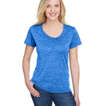 Ladies' Tonal Space-Dye T-Shirt Thumbnail