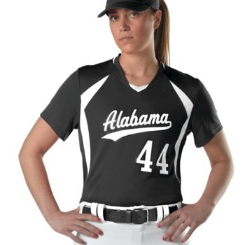 Girls' Short Sleeve Fastpitch Jersey Thumbnail