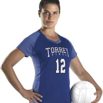 Women's Dig Short Sleeve Volleyball Jersey Thumbnail