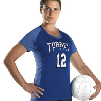 Girl's Dig Short Sleeve Volleyball Jersey Thumbnail