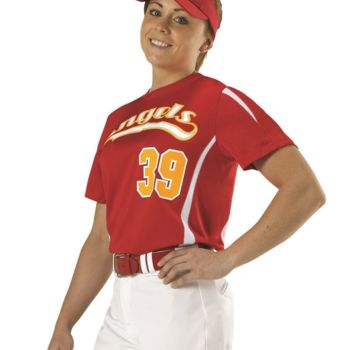 Girls Fast-Pitch Crew Neck Jersey Thumbnail