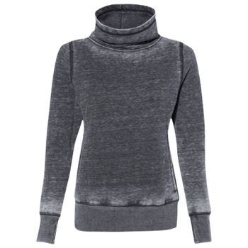 Vintage Zen Fleece Women's Cowl Neck Sweatshirt Thumbnail