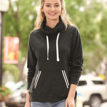 Relay Women's Cowlneck Sweatshirt Thumbnail
