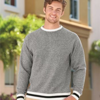 Peppered Fleece Crewneck Sweatshirt Thumbnail