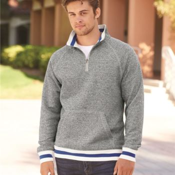 Peppered Fleece 1/4 Zip Pullover Thumbnail