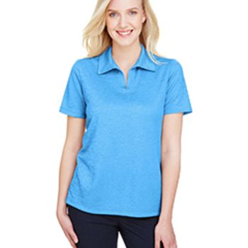 CrownLux Performance™ Ladies' Address Melange Polo Thumbnail
