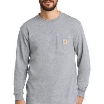 Workwear Pocket Long Sleeve T Shirt Thumbnail