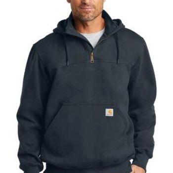 Rain Defender ® Paxton Heavyweight Hooded Zip Mock Sweatshirt Thumbnail